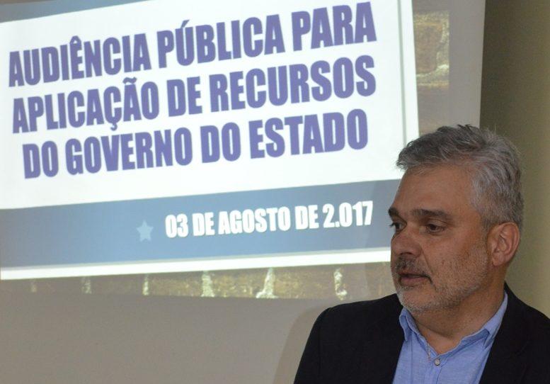Ata da audiência pública realizada pela prefeitura de General Carneiro para aplicação de recursos do Governo do Estado