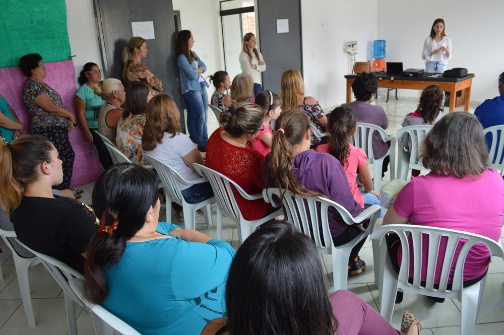 Alunos da Academia da Saúde participam de palestra em General Carneiro